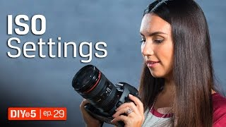 Photography for Beginners - Camera Light Sensitivity - ISO Explained 📷 DIY in 5 EP 29