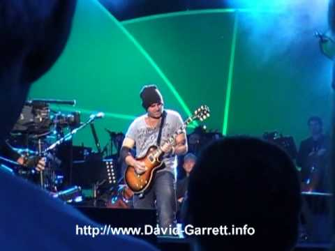 David Garrett, Marcus Wolf & John Haywood - Little Wing - Berlin 08.06.2010