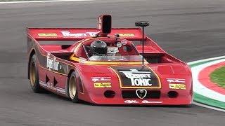 Alfa Romeo 33 SC 12 - Accelerations & Flat-12 Engine Glorious Roar!