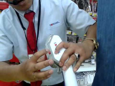 EDMARK STEAM BRUSH CARREFOUR SHATEA MALL,DAMMAM SAUDI ARABIA