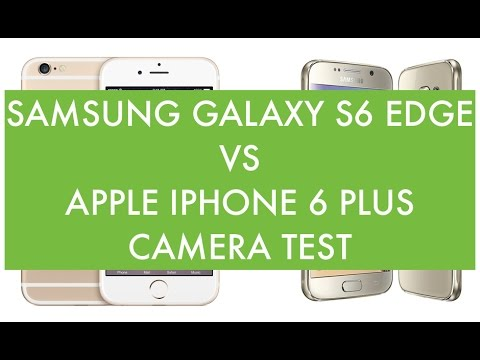 Samsung Galaxy S6 Edge vs Apple iPhone 6 Plus, Camera Test