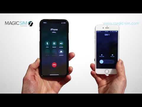 iPhone X - Dual SIM Adapter - MAGICSIM ELITE