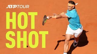 Hot Shot: Did Nadal Crush This Forehand With Thor's Hammer? | 2019 Rome 2019 Final