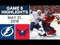 NHL Highlights | Lightning vs. Capitals, Game 6 - May 21, 2018 MP3
