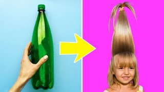 20 COOLEST KIDS' HAIRSTYLES TO MAKE IN A MINUTE