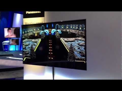 CES 2013 Panasonic Largest 4K OLED TV 56 inch (Like Sony 4K OLED)