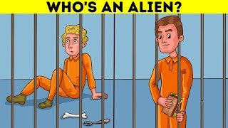 р Alien Quiz And Escape Riddles For A High-Intensity Brain Workout р