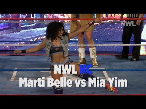 NWL KC | 04/15/17 | Marti Belle vs Mia Yim