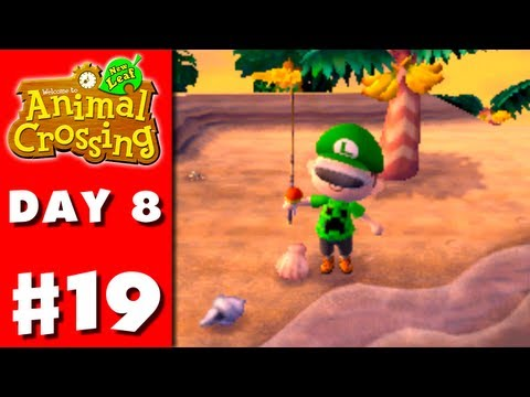 Animal Crossing: New Leaf - Part 19 - Tropical Island (Nintendo 3DS Gameplay Walkthrough Day 8)