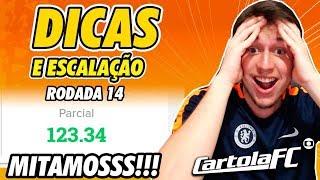 DICAS DO CARTOLA FC 2019 - 14ª RODADA   MITAMOS MUITO!!!