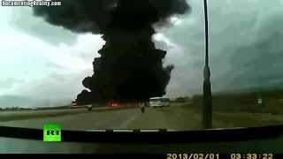 Avion se estrella en Afganistan - Cargo Boeing 747 crashes at Bagram Airfield
