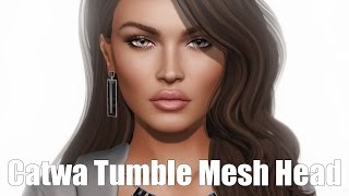 Catwa Tumble Basic Female Mesh Head in Second Life
