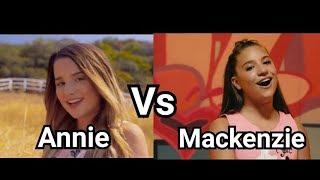 Download Lagu Annie Leblanc vs Mackenzie Ziegler Singing Edition Gratis STAFABAND