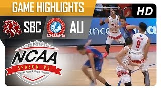 SBC vs AU    Game Highlights   NCAA 92   September 27, 2016