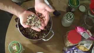Hemp Seed Trail Mix | Scroggin With Whole Hemp Seeds | Sterilized Hemp Seed Gorp | Hemp Snack Food
