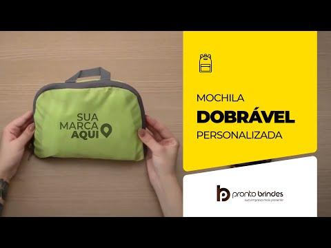 Pronto Brindes Mochila Dobrável 18539 001