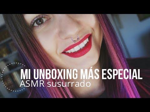 ASMR Unboxing sorpresa ¿que será? En español /Nadira ASMR