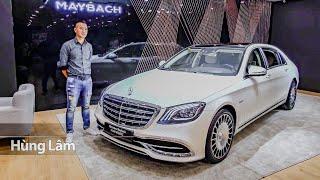 Khám phá chi tiết Maybach S560 4MATIC giá 12 tỷ độc nhất Việt Nam | XE HAY