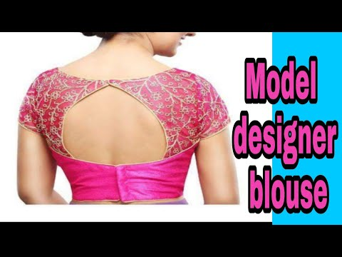 Model designer blouse easy steps in back part