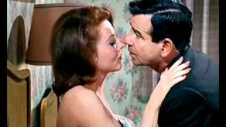 "Sexy woman seduces Walter Matthau: Elaine Devry in ""A Guide for the Married Man"""