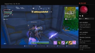 Fortnite Battle Royale Live with Kmannamk99 (Family friendly)