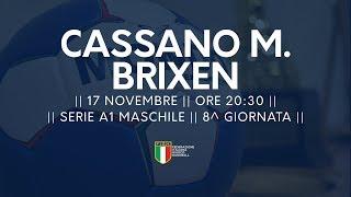 Serie A1M [8^]: Cassano Magnago - Brixen 25-24