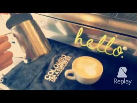 Watch our hello.cafe baristas at work.