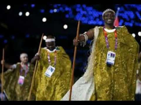 Athletes Parade in Opening Ceremony - London 2012 Olympic Games