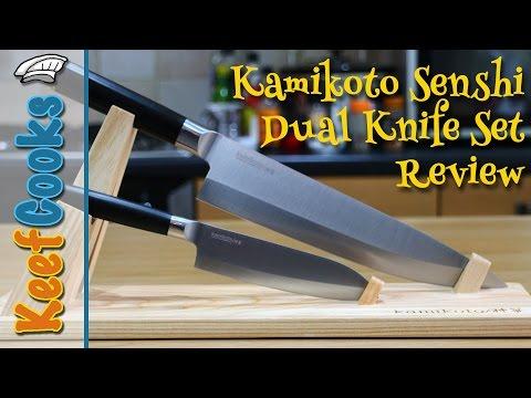 Kamikoto Senshi Dual Knife Set Review - Japanese Chefs Knives