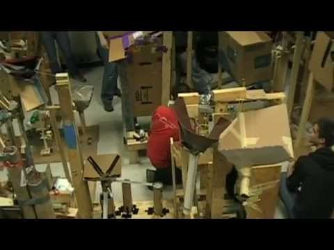 Intro to Robotics 2012: Massive Rube Goldberg Attempt