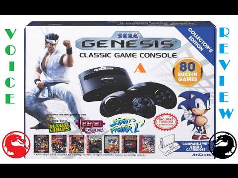 Voice a review episode 14 atgames sega genesis classic - Atgames sega genesis classic game console game list ...