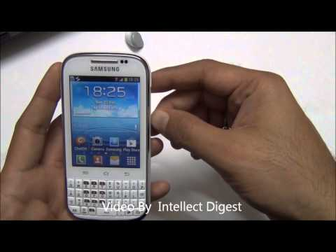 Samsung Galaxy Chat B5330 Detailed Review- Qwerty Android Phone video