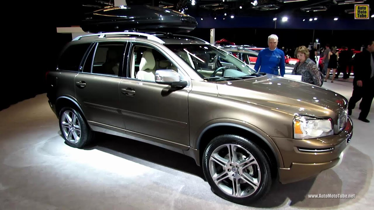 2013 volvo xc90 awd exterior and interior walkaround