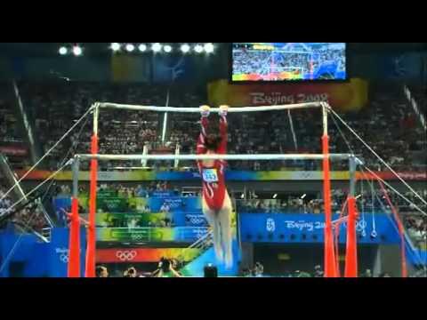 Beth Tweddle Uneven Bars Beijing Olympics 2008 (HQ)