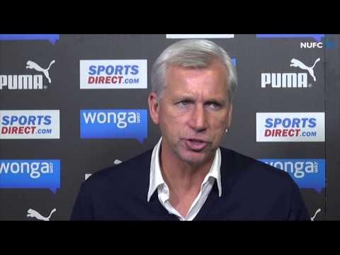 Alan Pardew Pre-Liverpool