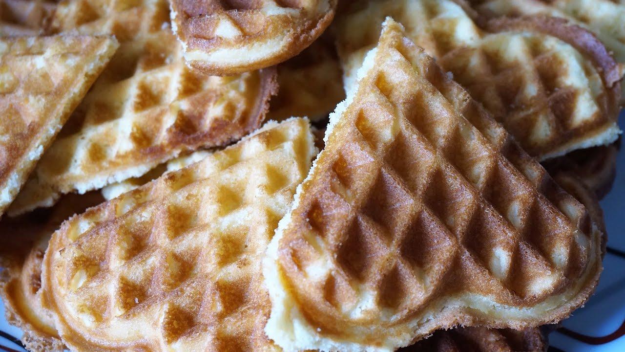 Не сладкие вафли в вафельнице рецепт пошагово хрустящие