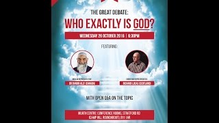 Video: Who exactly is God? - Shabir Ally vs Richard Lucas 1/2