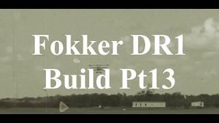 DW Hobby Fokker DR1 build Pt13 RC Model Geeks