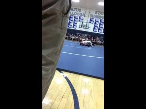 """Altus high school wrestler """"Junior Castillo"""""""
