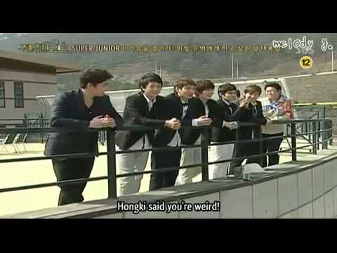 Super Junior Members Yell At Heechul and Eunhyuk