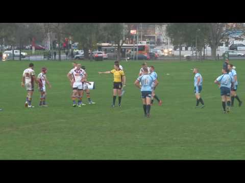 2016 Crimsafe Australian Police Rugby League Tri-Series - NSWPRL v QPSRL - 27 June 2016 - 1st half
