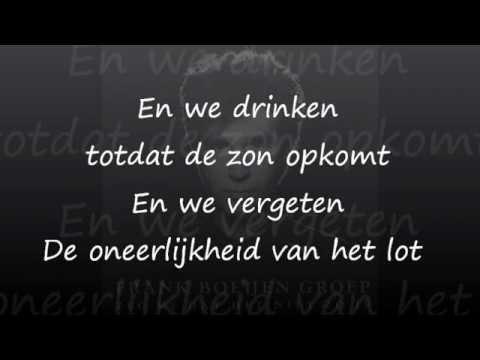 Frank Boeijen - Zeg Me Dat Het Niet Zo Is (lyrics)