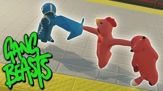 GRAB THE CAPE!!! | Gang Beasts Online BETA Part 1