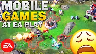 Mobile Games at EA E3 2018 Press Conference (Command & Conquer Rivals: Reaction)