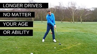 HIT YOUR DRIVER FURTHER - NO MATTER YOUR AGE OR ABILITY