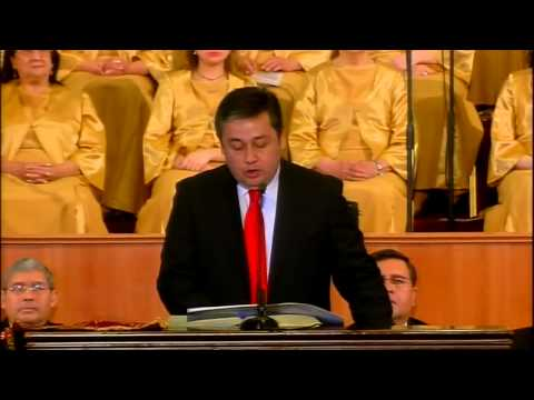 Servicio de Acción de Gracias 2014 en la Catedral Evangélica de Chile