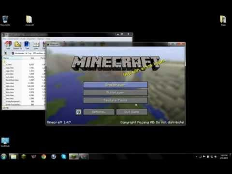 Minecraft: How to install Modloader for 1.4.7 (W/download)