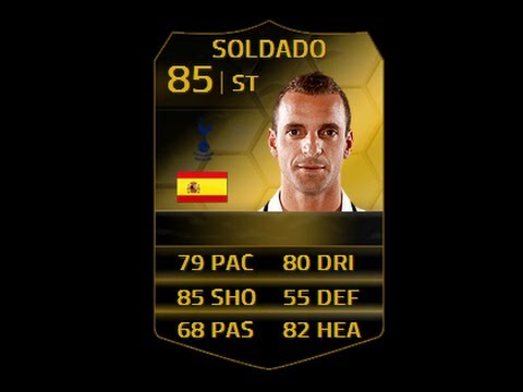 FIFA 14 IF SOLDADO 85 Player Review & In Game Stats Ultimate Team