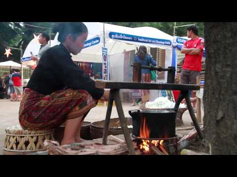 TOURISM AND HANDICRAFT EXHIBITION FESTIVAL IN LUANG PRABANG  LAOS