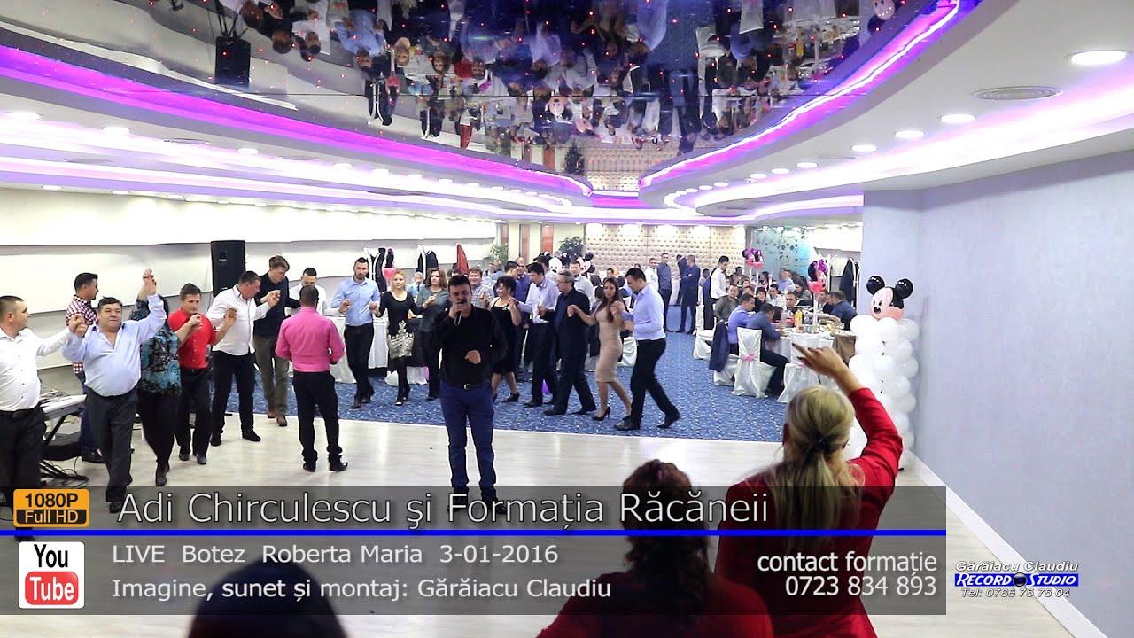 Adi Chirculescu si Formatia Racaneii Colaj HORA LIVE part.1 Botez Roberta Maria 3-01-2016